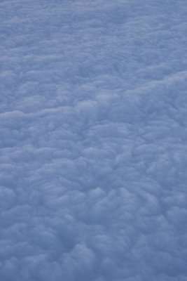 Clouds at dusk, aerial view Fine Art Print by Assaf Frank