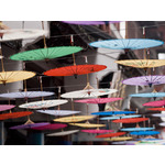 Chinese Umbrellas Fine Art Print by Assaf Frank