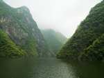 River with mountains, Sichuan province Fine Art Print by Assaf Frank
