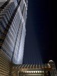 Low angle view of Jinmao tower at night, Shanghai Wall Art & Canvas Prints by Assaf Frank