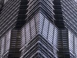 Low angle view of Jinmao tower at night, Shanghai Fine Art Print by Assaf Frank