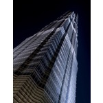 Jin Mao Tower Close-up Fine Art Print by Assaf Frank