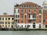 Italy, Venice, houses by canal, aerial view Fine Art Print by Assaf Frank