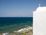 Church by the sea, Greece, Mykonos Island Fine Art Print by Assaf Frank
