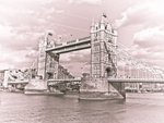 England, London, Tower Bridge over River Thames Wall Art & Canvas Prints by Assaf Frank