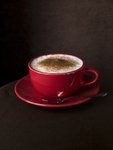 Close-up of cappuchino Fine Art Print by Assaf Frank