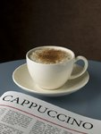 Close-up of cappuchino Postcards, Greetings Cards, Art Prints, Canvas, Framed Pictures & Wall Art by Assaf Frank