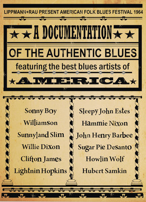 American Blues Poster (1) by Rokpool - print