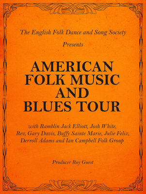 American Folk Music Poster by Rokpool - print