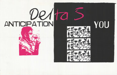 Delta 5 Poster (2) by Rokpool - print