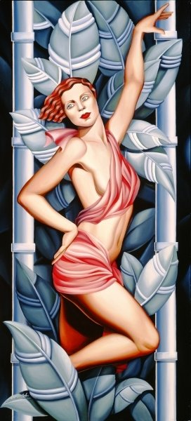 In the Forest (oil on canvas) Postcards, Greetings Cards, Art Prints, Canvas, Framed Pictures, T-shirts & Wall Art by Catherine Abel