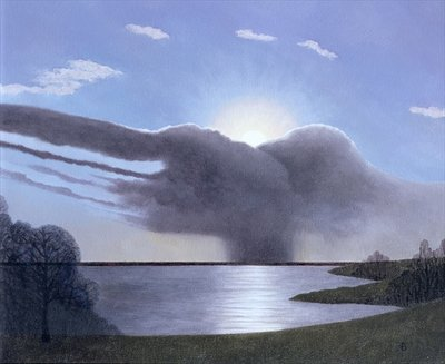 Draycote Cloud, 2004 Poster Art Print by Ann Brain