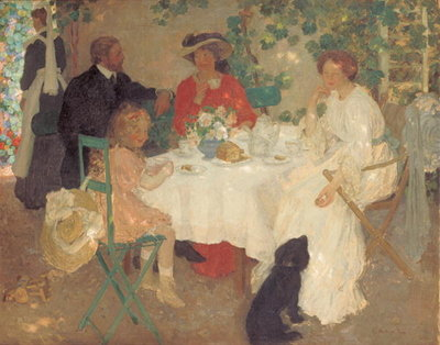 Al Fresco, c.1904 Poster Art Print by Emmanuel Phillips Fox