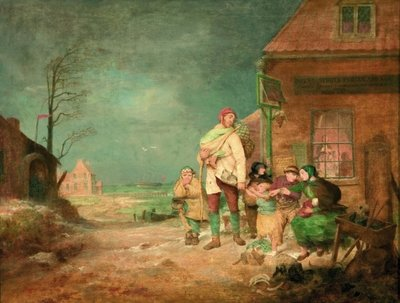 Outward bound: dinner time, c.1852 Fine Art Print by John Alexander Gilfillan