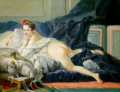 The Odalisque, 1749 Poster Art Print by Francois Boucher