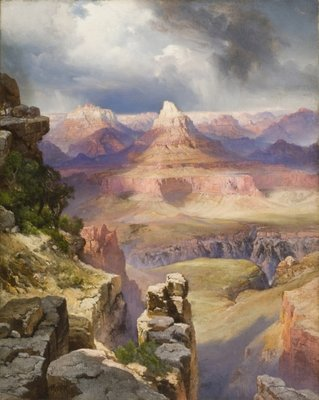 The Grand Canyon, 1909 Postcards, Greetings Cards, Art Prints, Canvas, Framed Pictures, T-shirts & Wall Art by Thomas Moran