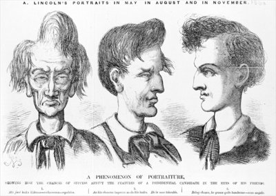 'A Phenomenon of Portraiture', c.1860 Postcards, Greetings Cards, Art Prints, Canvas, Framed Pictures, T-shirts & Wall Art by American School