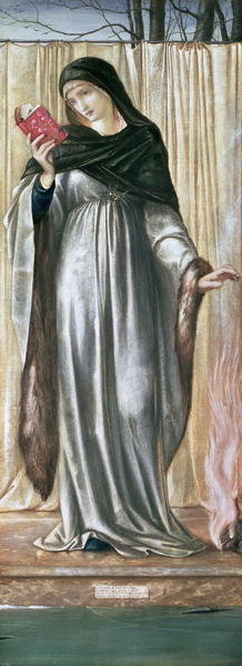 Winter, 1869-70 (gouache on paper) Wall Art & Canvas Prints by Sir Edward Coley Burne-Jones