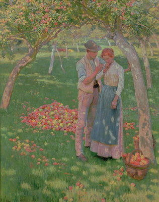 The Orchard Fine Art Print by Nelly Erichsen