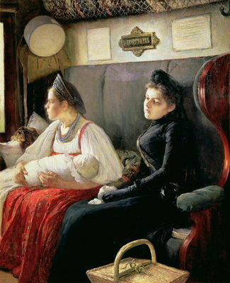 To the Relatives, 1891 Fine Art Print by Leonid Osipovic Pasternak