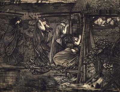 The Wise and Foolish Virgins Fine Art Print by Sir Edward Burne-Jones