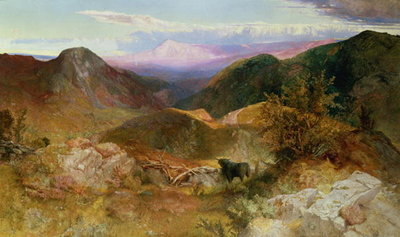 Glen Ogle, Scotland, 1860 Postcards, Greetings Cards, Art Prints, Canvas, Framed Pictures, T-shirts & Wall Art by John Samuel Raven