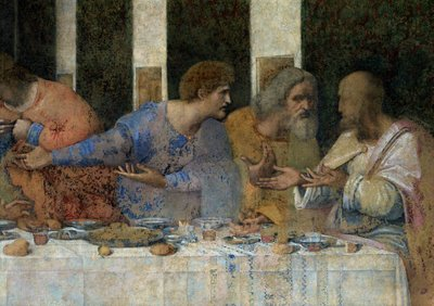 The Last Supper, 1495-97 Fine Art Print by Leonardo Da Vinci