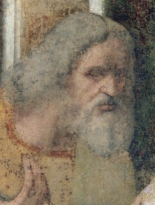 The Last Supper, 1495-97 (fresco) (post restoration) (detail of 161739) Wall Art & Canvas Prints by Leonardo da Vinci