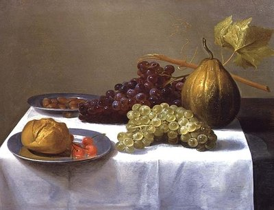 Still Life with Fruits Fine Art Print by Jacob Foppens van Es