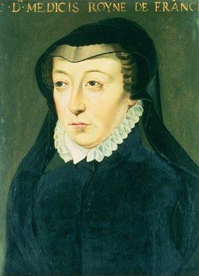 Catherine de Medici Fine Art Print by French School