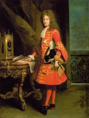 Portrait of a Cavalier, 1700 (oil on canvas) Wall Art & Canvas Prints by Robert Tournieres