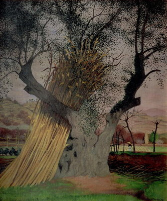 The Old Olive Tree, 1922 Fine Art Print by Felix Edouard Vallotton