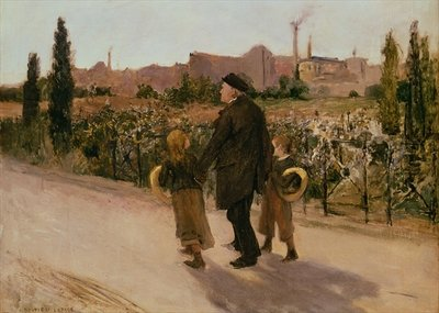 All Souls' Day, c.1882 Wall Art & Canvas Prints by Jules Bastien-Lepage