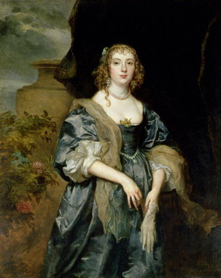 Anne Carr, Countess of Bedford, c.1638 Wall Art & Canvas Prints by Sir Anthony van Dyck