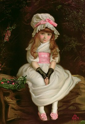 Cherry Ripe, 1879 Poster Art Print by Sir John Everett Millais