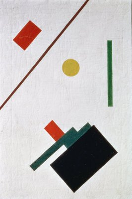 Suprematist Composition, 1915 Fine Art Print by Kazimir Severinovich Malevich