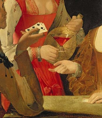 The Cheat with the Ace of Clubs Poster Art Print by Georges de la Tour