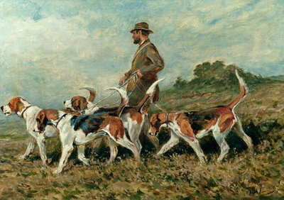 Hunting Exercise Fine Art Print by John Emms
