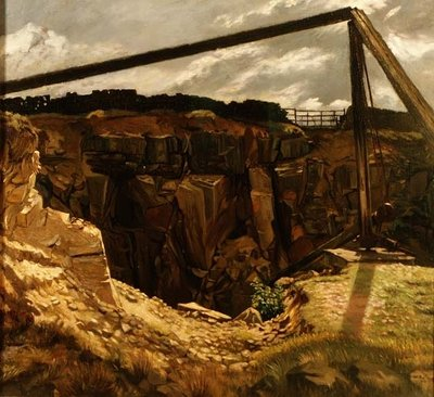 The Old Quarry, Hawksworth, 1904 Fine Art Print by Sir William Rothenstein