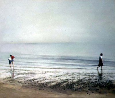 Morning Walk, 1978 Fine Art Print by Brian Yale