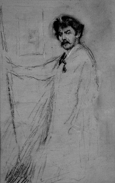 Self Portrait Fine Art Print by James Abbott McNeill Whistler