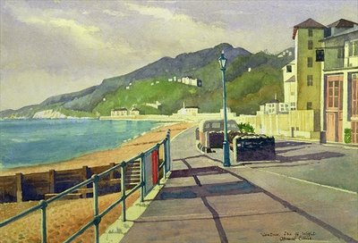 Ventnor, Isle of Wight Fine Art Print by Osmund Caine