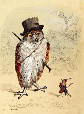 Illustration to Bubble and Squeak in 'Fun's Comic Creatures' published in 1887 Fine Art Print by Ernest Henry Griset