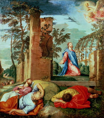 The Agony in the Garden Postcards, Greetings Cards, Art Prints, Canvas, Framed Pictures, T-shirts & Wall Art by Veronese