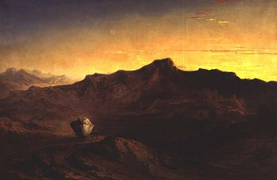 The Flight into Egypt Fine Art Print by John Martin