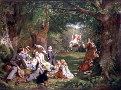 The Picnic Fine Art Print by Thomas P. Hall
