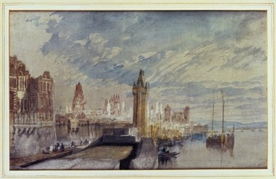Mainz on the Rhine Wall Art & Canvas Prints by Joseph Mallord William Turner