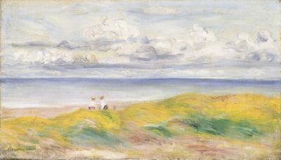 On the Cliffs, 1880 Wall Art & Canvas Prints by Pierre-Auguste Renoir