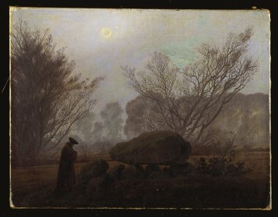 A Walk in the Mountains Fine Art Print by Caspar David Friedrich
