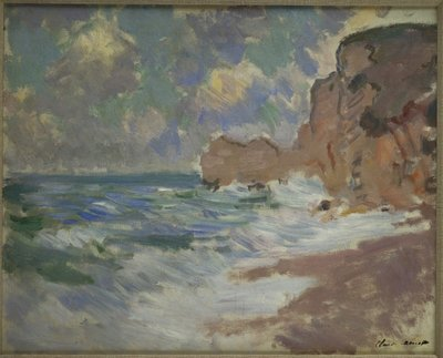 Receding Waves Fine Art Print by Claude Monet